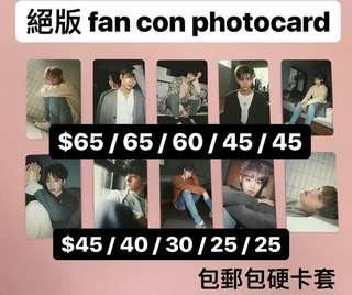 wanna one fan con photocard