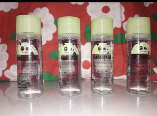 Monster cleansing water