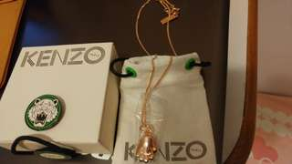Kenzo Rose gold necklace