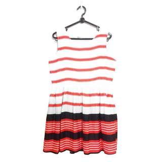 Tracyeinny TE Edlyn Striped Dress in Orange (Premium) (U.P. $28)