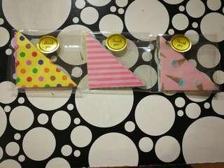 Origami handmade bookmarks