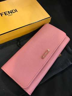 100% New Fendi Wallet