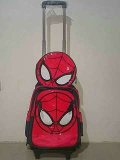 On Hand!!  Spider Man Trolley Bag