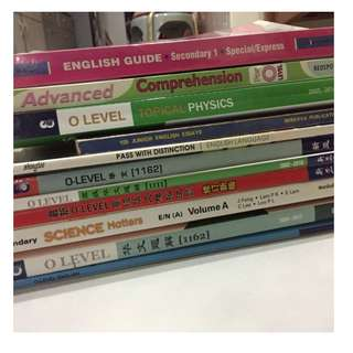 Secondary Assessment books and Chinese Textbooks