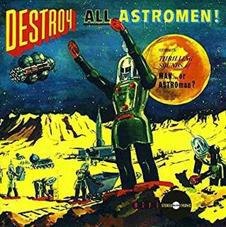 MAN OR ASTROMEN.   CD