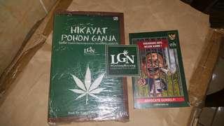 RARE BOOKS! Hikayat Pohon Ganja and Sekarang Aku Besok Kamu!