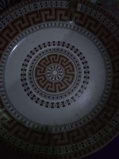 Ketemu piring pajangan diameter 37cm