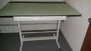 Drafting board (AO) size with stand and chair