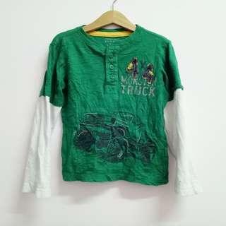 Sonoma Life Style Authentic Denim Boys Long Sleeve Shirt
