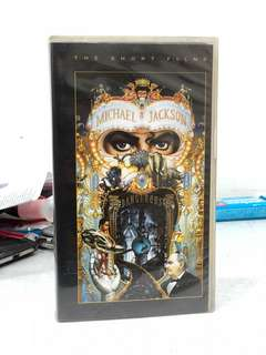 Michael Jackson Dangerous VHS