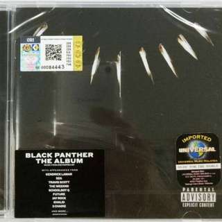 Imported CD Black Panther The Album