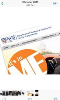 NUS Mech Eng Materials