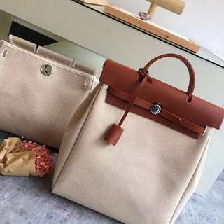 Hermes Herbag 2in1 Backpack & Tote Bag