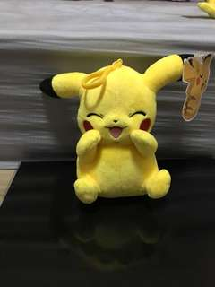 New! Pokemon Plush - Pikachu (Laughing)