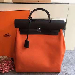 Hermes Herbag 2in1 backpack & totebag