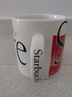 Authentic Starbucks Mug Singapore - 20oz stoneware
