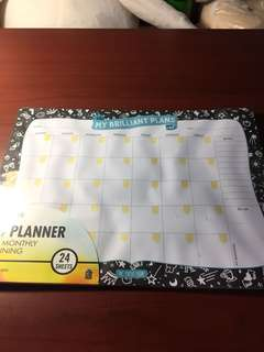 The paper stone A4 planner - my brilliant plans