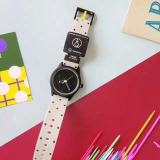 Special Edition Q&Q Smile Solar x Gallery & Co Watch