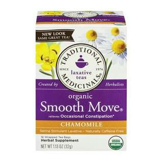 Traditional Medicinals Smooth Move Chamomile Tea - 7 Pieces