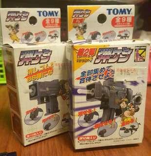 (代放)童年玩具TOMY像膠槍 6把 盒內有1把