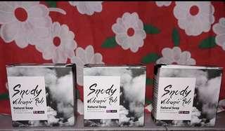 Snody volcanic soap