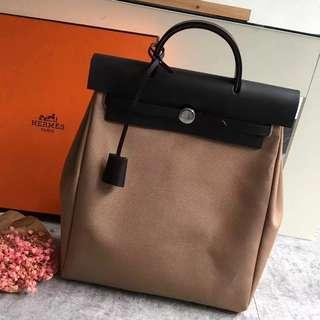 Hermes Herbag 2in1 Backpack & Tote Bag