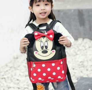 Bag For Kids Mickey and Minnie Mouse