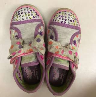 Skechers twinkle toe shoe