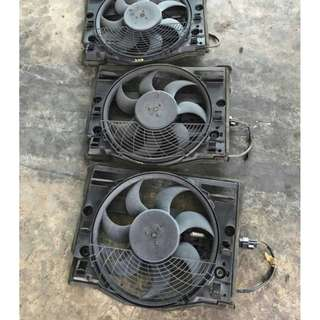 6 SELINDER AIR COND FAN FOR E46
