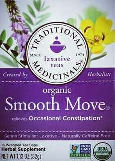 Traditional Medicinals Tea Smooth Move - Original