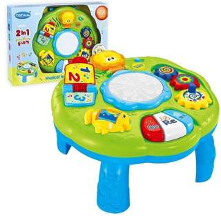 2 in 1 Musical Learning Table