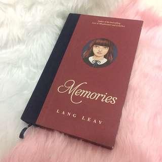 Memories (Hardbound) by Lang Leav