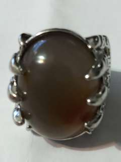 Agate Ring size 18.5