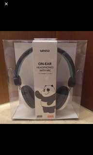 We Bare Bears Headset
