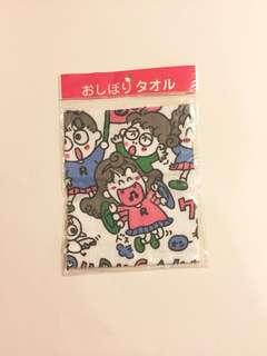 Sanrio vintage Rururu Gakuen Rururugakuen 1993 毛巾