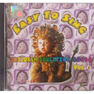 Children Education Songs Easy To Sing Vol.5 CD