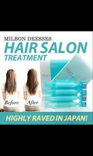 Milbon deesse's 4X hair treatment