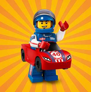 Lego Minifigures Series 18 Race Car Guy