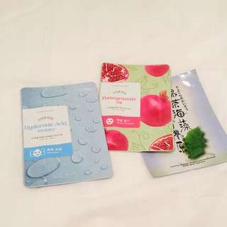 Etude House Authentic Korean Face Masks Pack of 3