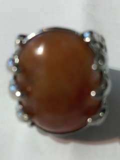 Agate Ring size 19