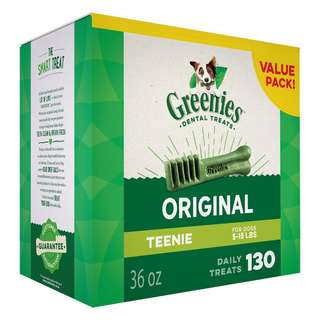 [IN-STOCKS] GREENIES Original TEENIE Dog Dental Chews Dog Treats