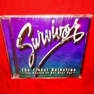 Survivor	-	The Finest Selection - The Search Is Not Over Yet CD