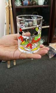 Coke Disney  Glass