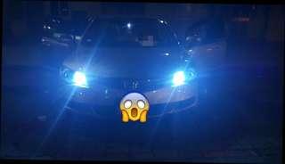 Super bright T10 led on Honda civic FD
