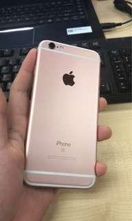 Iphone 6s plus 64gb Rosegold original fullset