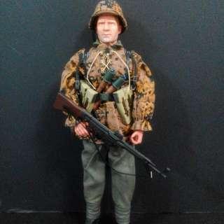 Dragon 威龍 Alfred Lah Division Private Schutze WWII 1944 二戰 德軍 人偶士兵