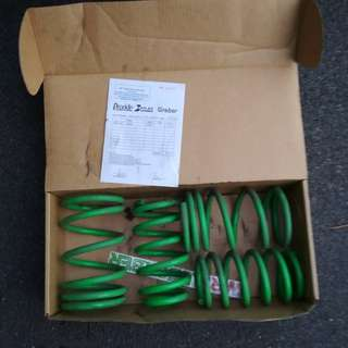 2nd hand 4flex spring coils (1set)