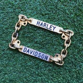 Harley Davidson license plate frame