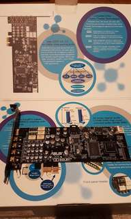 Asus Xonar DX 7.1 Audio Card