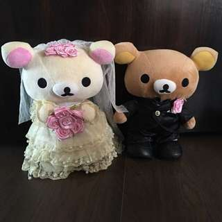 Rilakkuma Wedding Couple Authentic